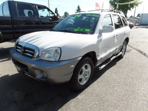 2004 Hyundai Santa Fe for sale at Gold Key Motors in Centralia WA