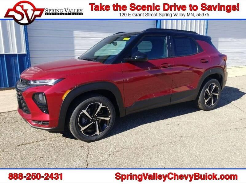2021 Chevrolet TrailBlazer for sale at Spring Valley Chevrolet Buick in Spring Valley MN