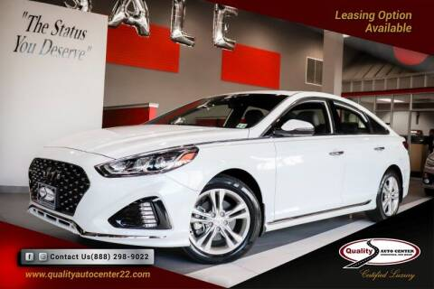 2018 Hyundai Sonata for sale at Quality Auto Center in Springfield NJ