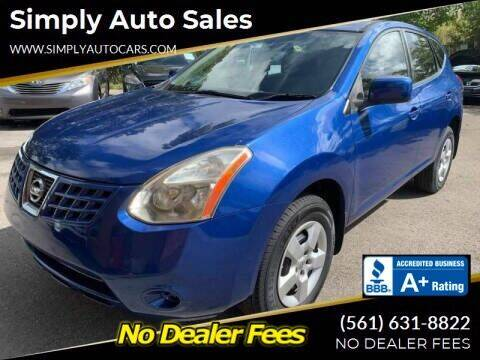 2009 Nissan Rogue for sale at Simply Auto Sales in Palm Beach Gardens FL