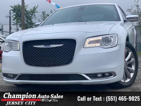 2018 Chrysler 300 for sale at CHAMPION AUTO SALES OF JERSEY CITY in Jersey City NJ