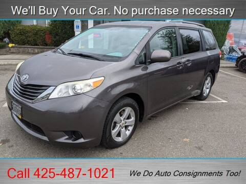 2011 Toyota Sienna for sale at Platinum Autos in Woodinville WA