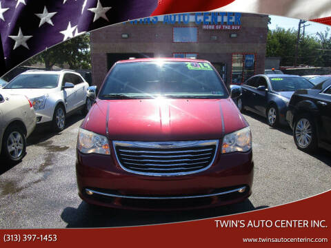 2014 Chrysler Town and Country for sale at Twin's Auto Center Inc. in Detroit MI