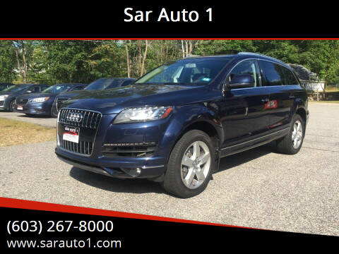 2014 Audi Q7 for sale at Sar Auto 1 in Belmont NH