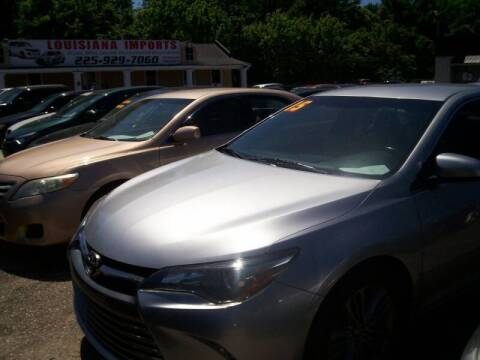 2015 Toyota Camry for sale at Louisiana Imports in Baton Rouge LA