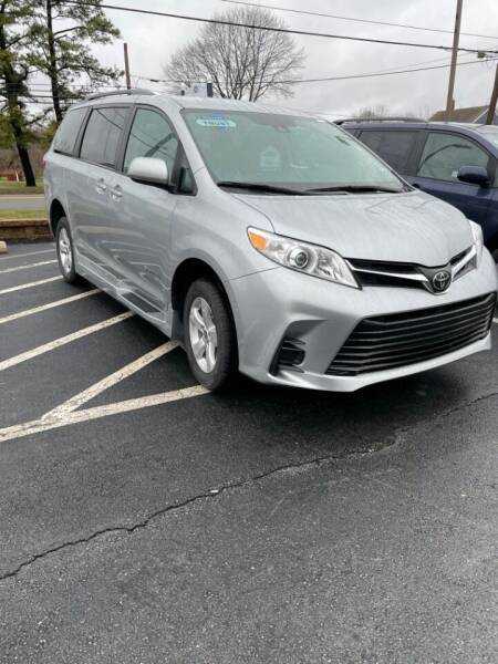 2020 Toyota Sienna for sale at Adaptive Mobility Wheelchair Vans in Seekonk MA