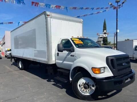 2013 Ford F-750 Super Duty for sale at Auto Wholesale Company in Santa Ana CA