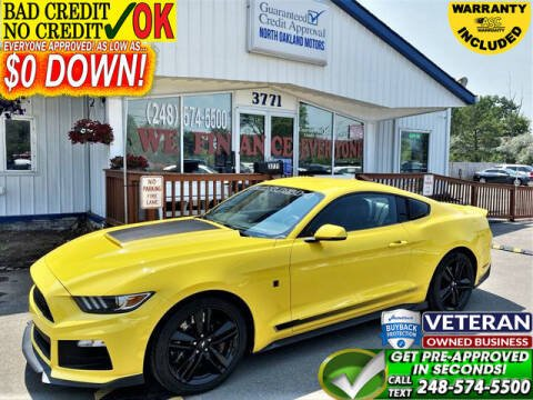 2015 Ford Mustang for sale at North Oakland Motors in Waterford MI