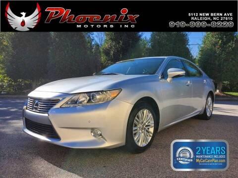 2013 Lexus ES 350 for sale at Phoenix Motors Inc in Raleigh NC