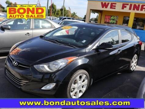 2013 Hyundai Elantra for sale at Bond Auto Sales in St Petersburg FL