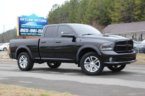 2015 RAM Ram Pickup 1500 for sale at Skyline Motors in Louisville TN