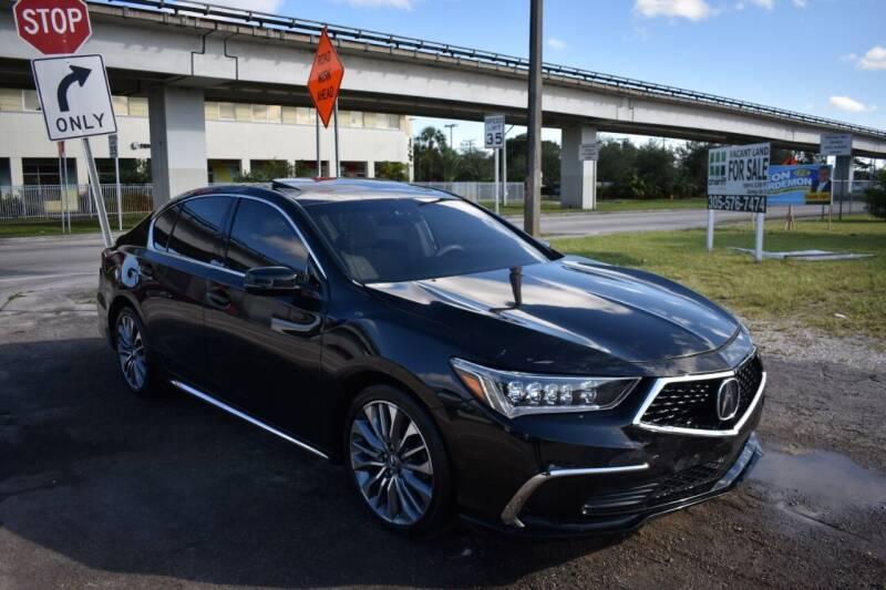 2018 Acura RLX for sale at STS Automotive - Miami, FL in Miami FL