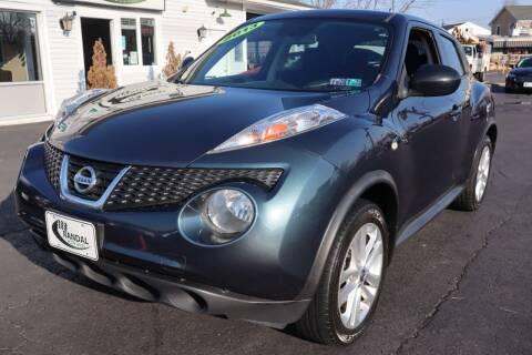 2013 Nissan JUKE for sale at Randal Auto Sales in Eastampton NJ