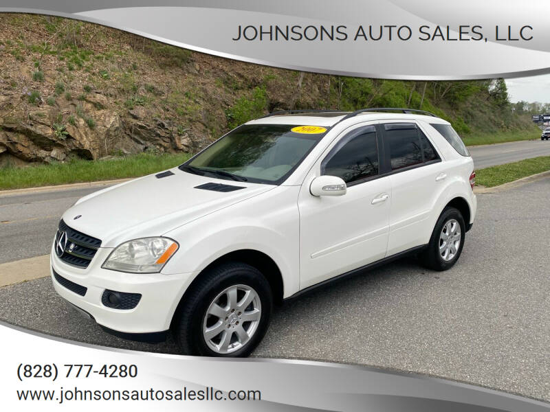 2007 Mercedes-Benz M-Class for sale at Johnsons Auto Sales, LLC in Marshall NC