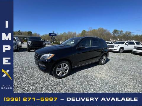 2014 Mercedes-Benz M-Class for sale at Impex Auto Sales in Greensboro NC