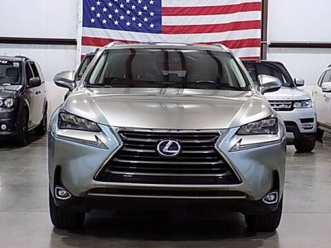 2015 Lexus NX 300h for sale at Texas Motor Sport in Houston TX