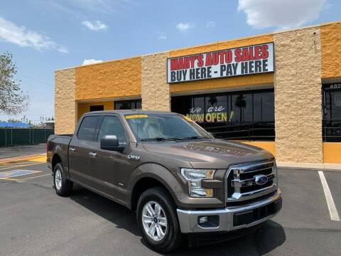 2017 Ford F-150 for sale at Marys Auto Sales in Phoenix AZ