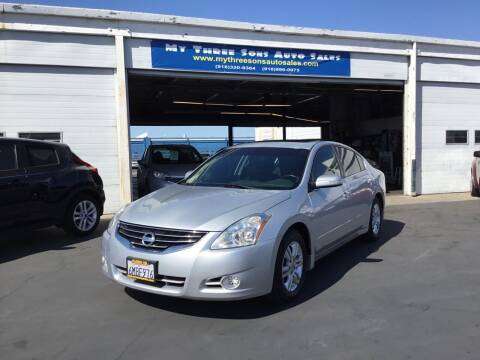 2010 Nissan Altima for sale at My Three Sons Auto Sales in Sacramento CA