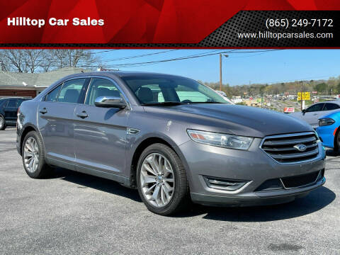 2013 Ford Taurus for sale at Hilltop Car Sales in Knox TN