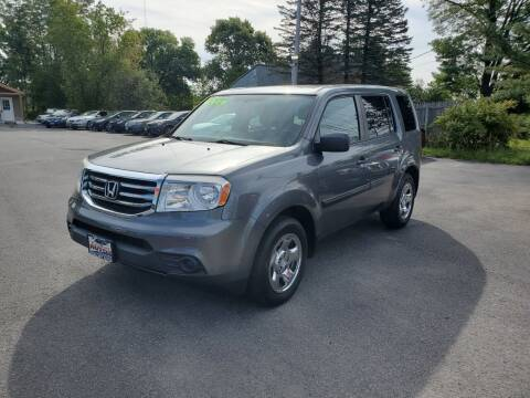 2013 Honda Pilot for sale at Excellent Autos in Amsterdam NY
