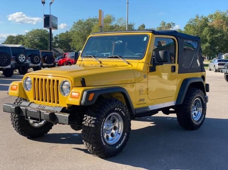 2004 Jeep Wrangler for sale at Island Auto Off-Road & Sport in Grand Island NE
