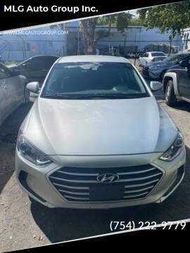 2018 Hyundai Elantra for sale at MLG Auto Group Inc. in Pompano Beach FL