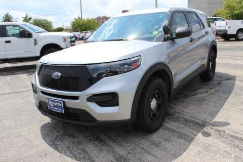 2021 Ford Explorer Hybrid for sale at BROADWAY FORD TRUCK SALES in Saint Louis MO