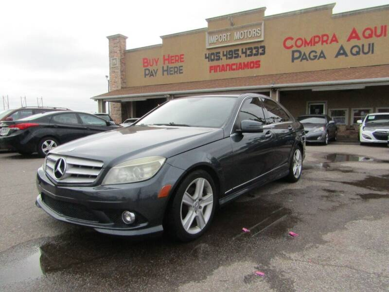 2010 Mercedes-Benz C-Class for sale at Import Motors in Bethany OK