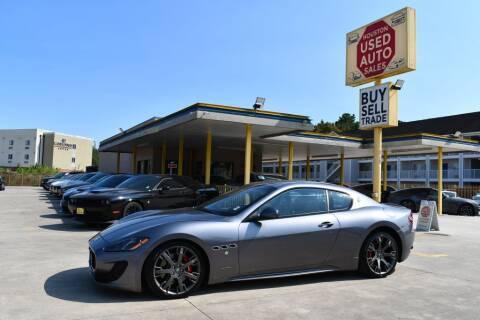 2015 Maserati GranTurismo for sale at Houston Used Auto Sales in Houston TX