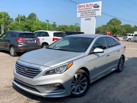 2016 Hyundai Sonata for sale at Drive Auto Sales & Service, LLC. in North Charleston SC