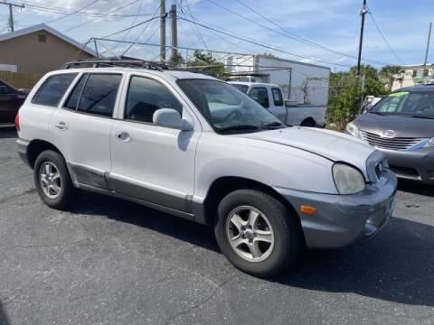 2004 Hyundai Santa Fe for sale at Mike Auto Sales in West Palm Beach FL