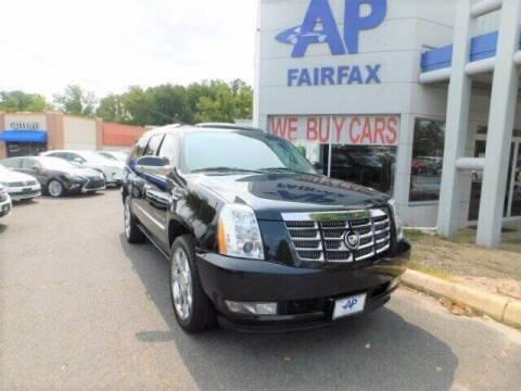 2012 Cadillac Escalade ESV for sale at AP Fairfax in Fairfax VA