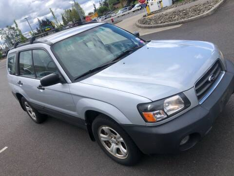2004 Subaru Forester for sale at Blue Line Auto Group in Portland OR