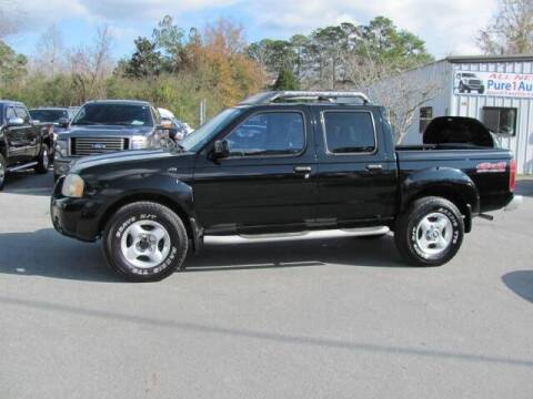 2002 Nissan Frontier for sale at Pure 1 Auto in New Bern NC