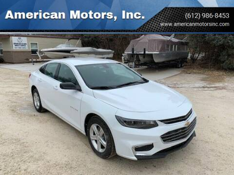 2019 Chevrolet Malibu for sale at American Motors, Inc. in Farmington MN