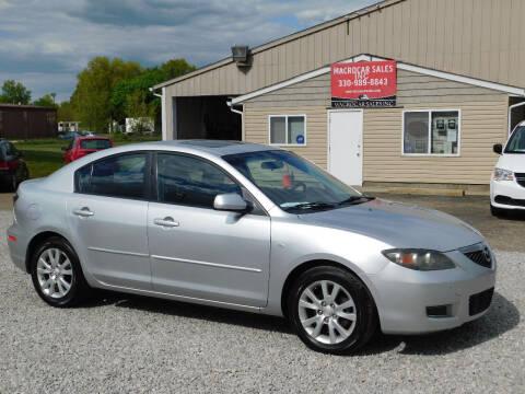 2008 Mazda MAZDA3 for sale at Macrocar Sales Inc in Akron OH