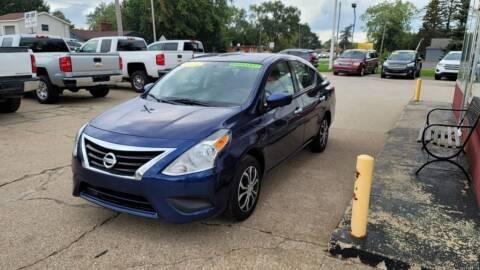 2018 Nissan Versa for sale at Clare Auto Sales, Inc. in Clare MI