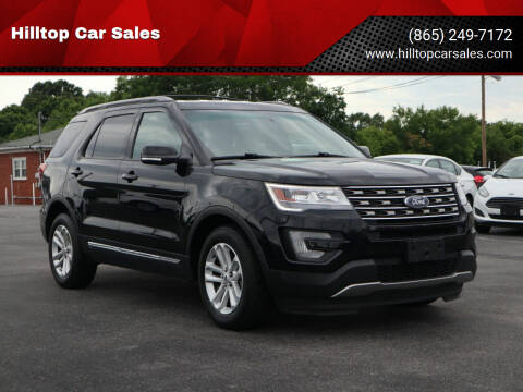 2017 Ford Explorer for sale at Hilltop Car Sales in Knox TN