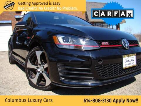 2017 Volkswagen Golf GTI for sale at Columbus Luxury Cars in Columbus OH