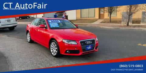 2009 Audi A4 for sale at CT AutoFair in West Hartford CT