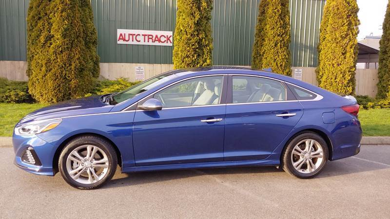 2019 Hyundai Sonata for sale at AUTOTRACK INC in Mount Vernon WA