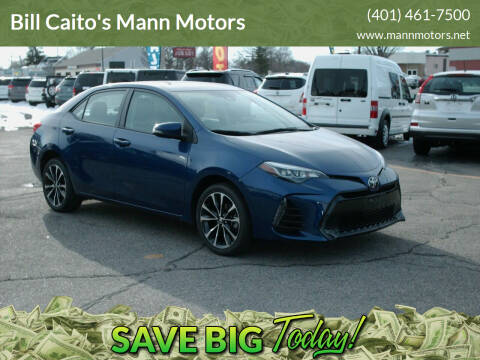 2017 Toyota Corolla for sale at Bill Caito's Mann Motors in Warwick RI