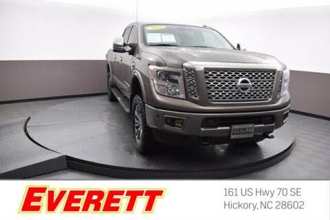 2018 Nissan Titan XD for sale at Everett Chevrolet Buick GMC in Hickory NC