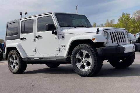 2016 Jeep Wrangler Unlimited for sale at Island Auto Off-Road & Sport in Grand Island NE