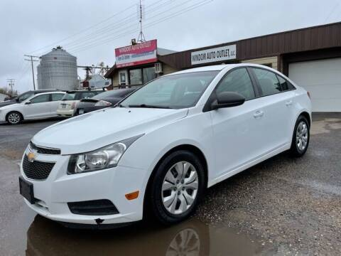 2013 Chevrolet Cruze for sale at WINDOM AUTO OUTLET LLC in Windom MN