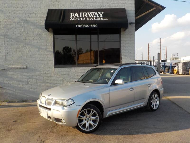 2008 BMW X3 for sale at FAIRWAY AUTO SALES, INC. in Melrose Park IL