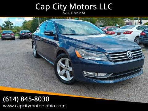 2015 Volkswagen Passat for sale at Cap City Motors LLC in Columbus OH
