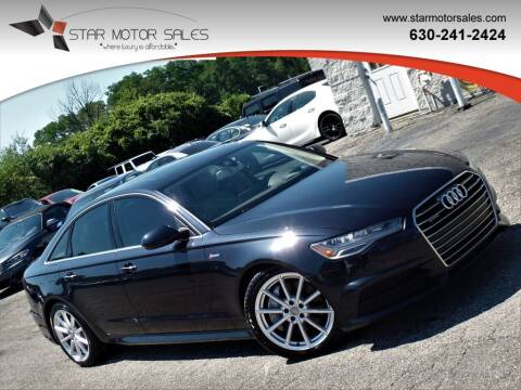 2017 Audi A6 for sale at Star Motor Sales in Downers Grove IL