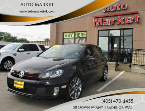 2013 Volkswagen GTI for sale at Auto Market in Oklahoma City OK