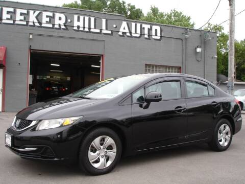 2013 Honda Civic for sale at Meeker Hill Auto Sales in Germantown WI